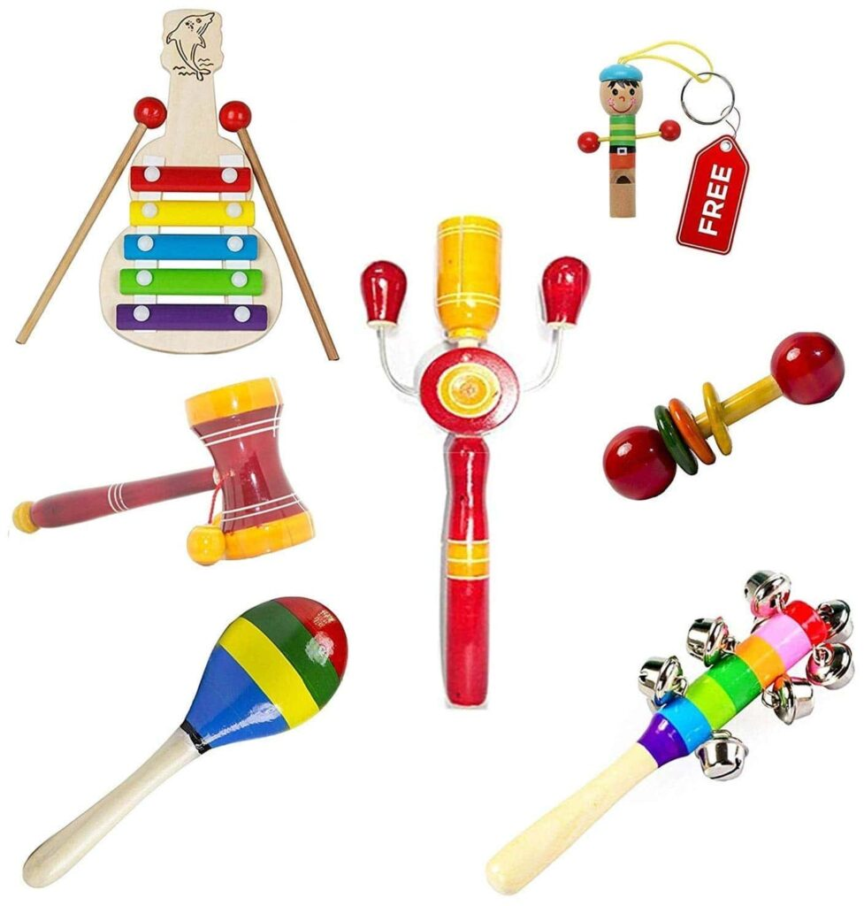 newborn baby toys wooden musical toys